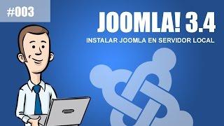 Curso de Joomla 3.4: Instalar Joomla 3.4 en host local servidor local by @TuJoomla