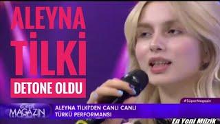 Aleyna Tilki Canlı Yayında Detone Oldu!