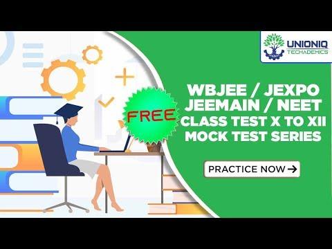 Unioniq Techademics Free Online Mock Test System   WBJEE   JEEMain   JEXPO   NEET