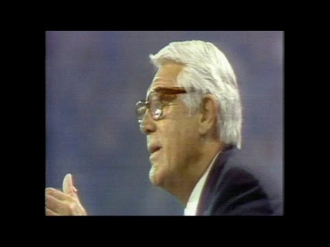 Cary Grant introduces Betty Ford at the 1976 GOP convention