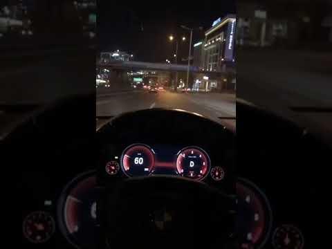 Bmw 520i gece snap (hayalet gösterge)