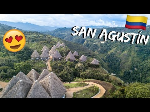 Would YOU Stay Here?? New eco-hostel in San Agustín, Colombia - Travel Vlog Ep 9