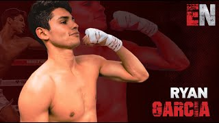 Ryan Garcia No Days Off Back In The Gym With Jake Paul  EsNews Boxing