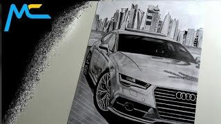 1. My Drawing - Audi A7 / Realistic - Realistické