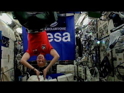 Dieser Astronaut spielt zum ersten Mal als DJ auf der ISS