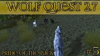 Lunala's First Litter of Moon-Touched Wolf Pups! 🐺 Wolf Quest 2.7 - Pride of the Pack 🐺 Episode #5