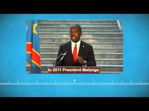 The Congo Zaire History with president Christian Malanga