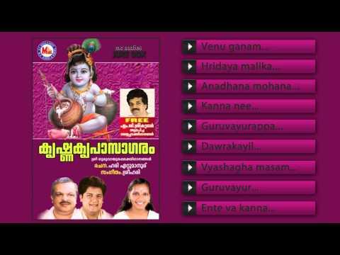 കൃഷ്ണ കൃപാസാഗരം   KRISHNA KRIPASAGARAM   Hindu Devotional Songs Malayalam   Guruvayoorappan Songs