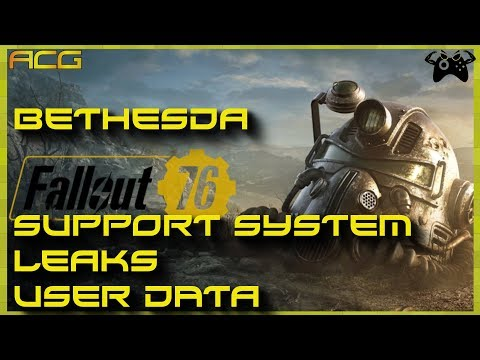 Bethesda User Support System EPIC FAILURE!  Users Personal Data Leaked In  Support Tickets
