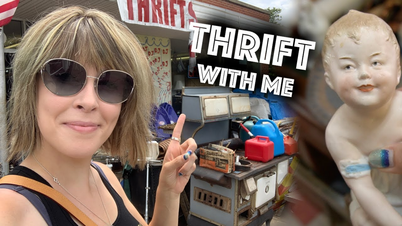 Small Town THRIFT STORE was LOADED | Thrift with ME for Ebay | Reselling