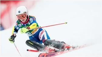 Riikka Honkanen laski ensimmäistä kertaa maailmancup-pisteille suurpujottelussa Tshekissä