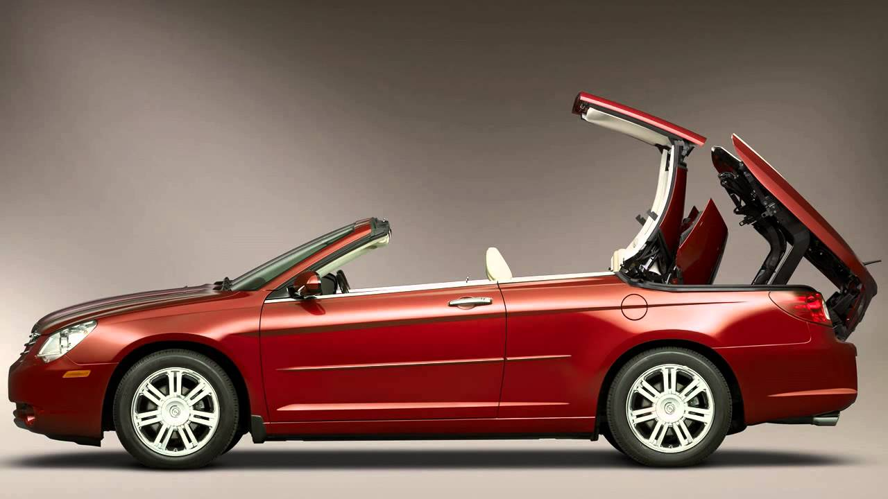 chrysler sebring convertible 2008 youtube. Black Bedroom Furniture Sets. Home Design Ideas