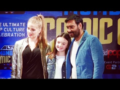 Ajay Devgn's Shivaay Comic Book LAUNCH | Erika Kaar | Abigail Eames | Comic Con India 2016 - Part 2