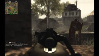 Call of Duty - World at War Multiplayer: Gameplay (PC) Kar98 on Outskirts (1/2)