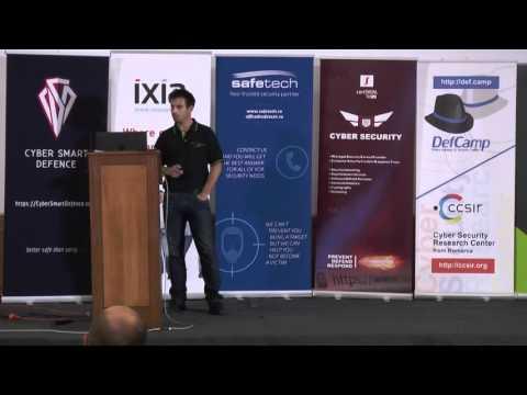 DefCamp 2015 - ELK stack for Hackers