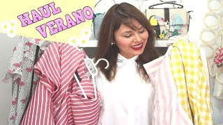 SUPER HAUL DE VERANO: Zara, Bershka, Primark, Aliexpress, Primkie, Zaful / DaY_BB