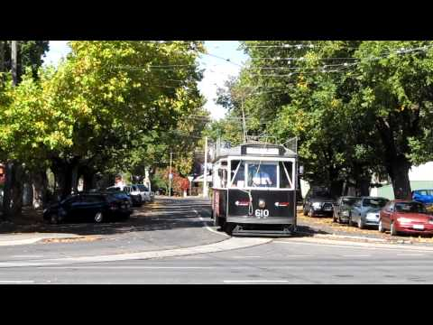 TOURIST TRAMS IN BENDIGO VICTORIA May 2015