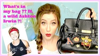 | What's in my bag? ft. a wild Ashton Irwin ?! | Thumbnail