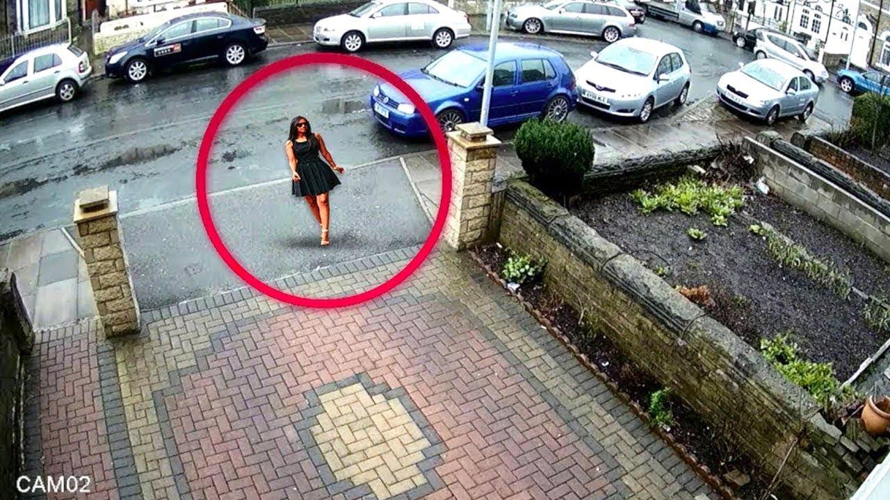 لا يصدق! انظروا ما التقطته كاميرات المراقبة في هذا الشارع !!