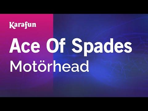 Karaoke Ace Of Spades  Motörhead *
