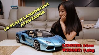 65cm 7kg Super-large  Lamborghini aventador Roadster FULL BUILD