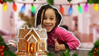 Gingerbread House Challenge | Cali's Playhouse