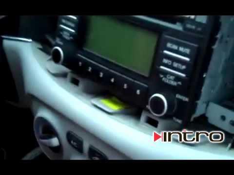 штатная магнитола для hyundai accent 2007