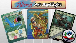 MTG – BEST New Altered Art: Link, The Incredible Hulk, Froot Loops, Lord of the Rings, and more!