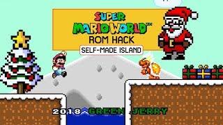Mario saves Christmas | New Super Mario World ROM Hack (2018)