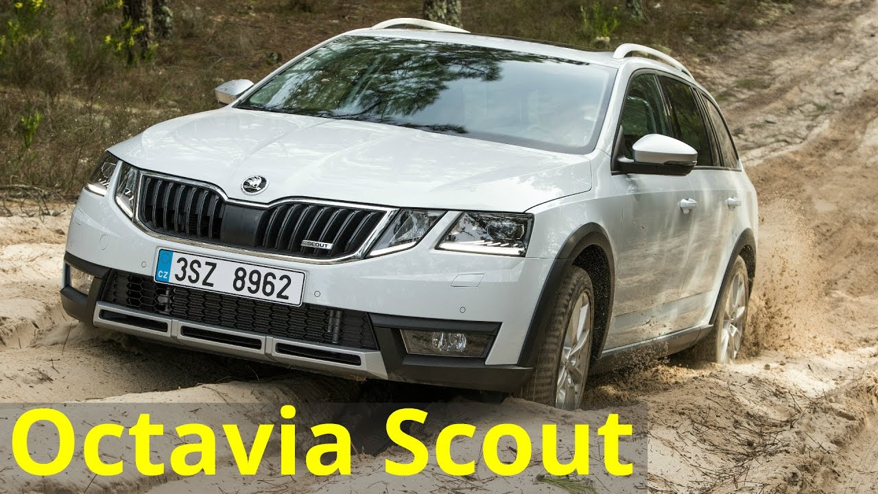 2017 skoda octavia scout off road drive youtube. Black Bedroom Furniture Sets. Home Design Ideas