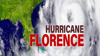 Hurricane Florence 2018 || The category 3 Monster Storm || How Powerful it is...