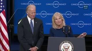 Vice President Biden and Dr. Biden Speak on the Cancer Moonshot
