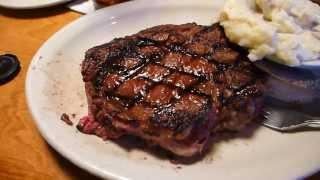 "Америка, ресторан ""Texas road house"" Юта"