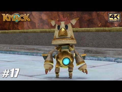 Knack - PS4 Pro Gameplay Playthrough 4K 2160p - PART 17