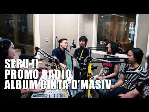 SERUUU !! 2 Hari D'MASIV Promo Radio (Vlog 26) - 동영상