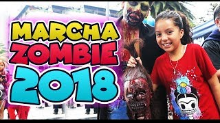 Marcha Zombie 2018 CDMX
