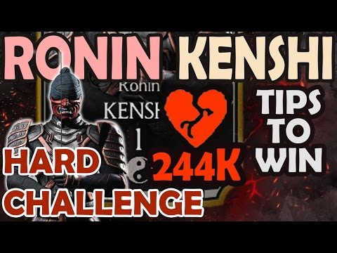 Ronin Kenshi HARD Challenge Best Strategies. Detailed review.