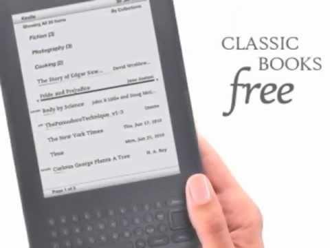 kindle keyboard 3g free 3g wi fi 6 e ink display youtube rh youtube com amazon kindle keyboard 3g manual Kindle Keyboard 3G White