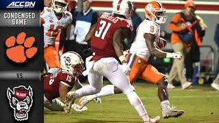 Clemson vs. North Carolina State Condensed Game | ACC Football 2019-20