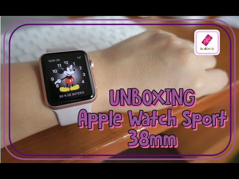 [UNBOXING] Apple Watch Sport 38mm Lavender/Rose Gold