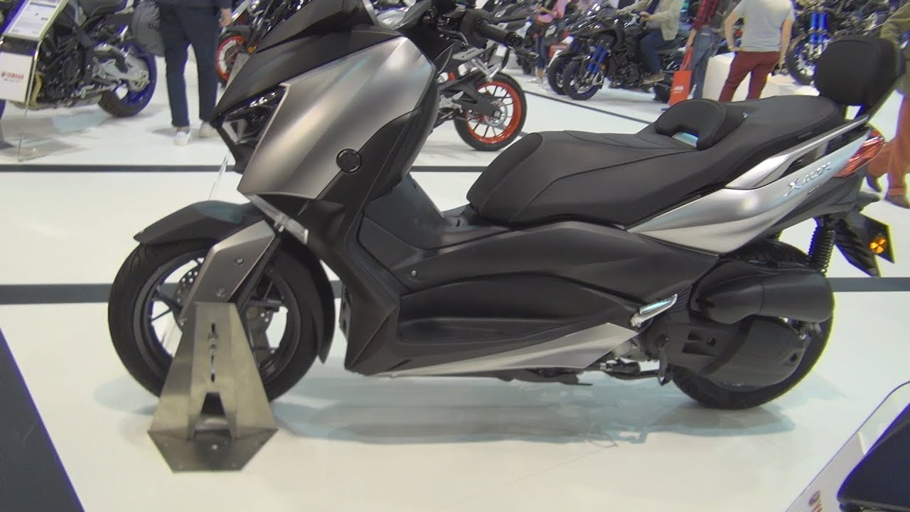 yamaha xmax 125 2019 exterior and interior youtube. Black Bedroom Furniture Sets. Home Design Ideas