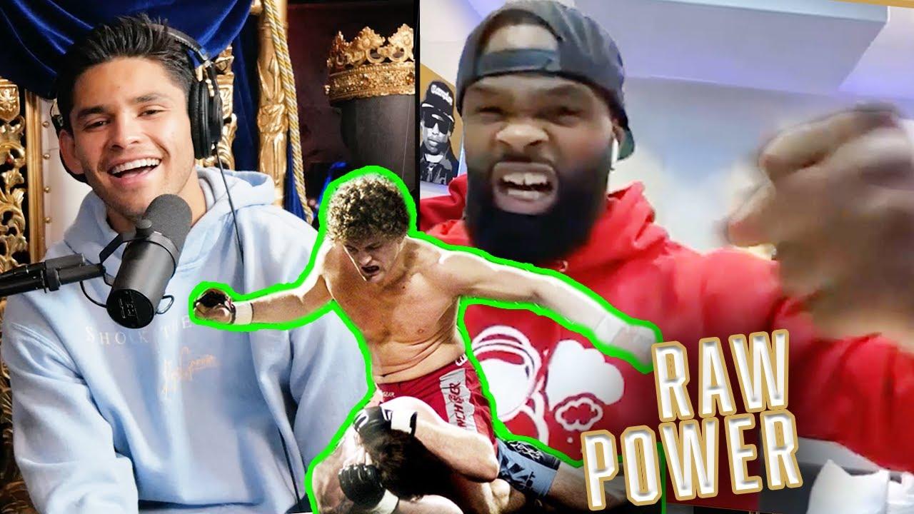 Ben Askren's Raw Strength vs Jake Paul - Tyron Woodley on Fierce Talk with Ryan Garcia