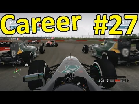 F1 2013 Silverstone 100% Career Mode Part 27: British Grand Prix