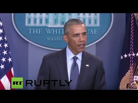 LIVE: Obama delivers statement on Orlando mass shooting