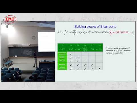 Vernizzi: More on the Effective Theory of Dark Energy