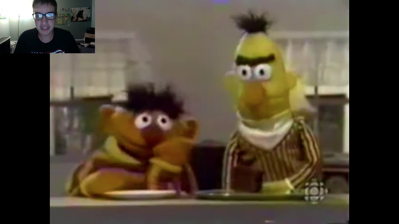 Ernie And Bert Parody Berts Cake Better Quality Reaction Video W