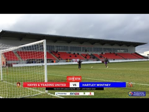 Hayes & Yeading v Hartley Wintney - 10th March 2018