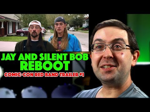Play REACTION! Jay and Silent Bob Reboot Red Band Comic-Con Trailer #1 - Chris Hemsworth Movie 2019