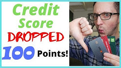 😱800 CREDIT SCORE DROP & JUMP OF 100 POINTS!!! - How to Increase Your Credit Score FAST (60 DAYS!)