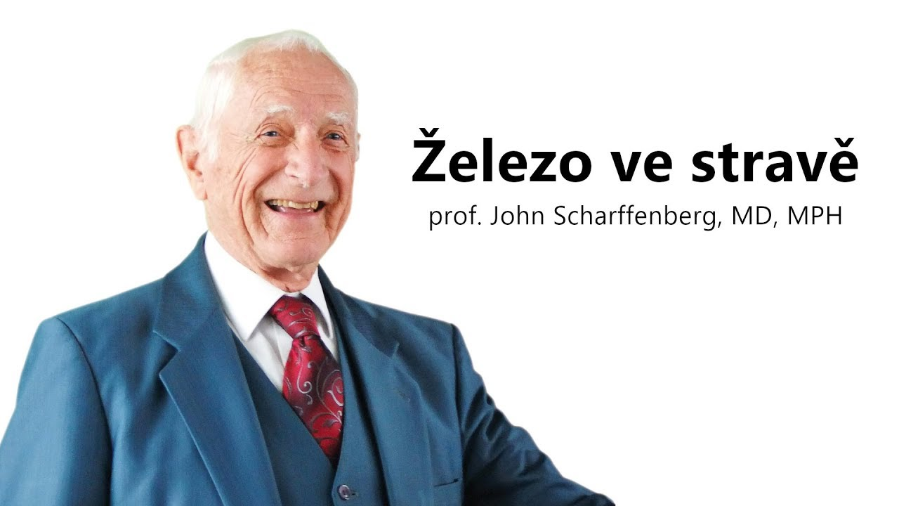 Železo ve stravě • prof. John Scharffenberg, MD, MPH